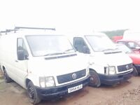 Volkswagen lt 28 35 46 tdi spare parts availble bumper bonnet wings wheels mirrors radiator doors