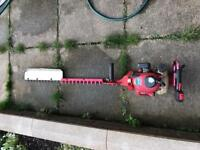 Kawasaki th23 hedge cuter 40 inch blade starts and runs £120