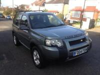 2004 LAND ROVER 4X4 1.8 WITH 1 YEAR MOT FULL EXTRAS QUICK SALE
