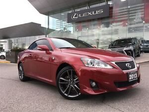 2013 Lexus IS250C 1Owner Nav BUcam Lthr Btooth