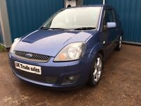 2007 FORD FIESTA ZETEC 1.4 *** FULL YEARS MOT *** similar to corsa clio punto polo micra ka yaris