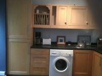Kitchen units, worktop, sink and tap, good condition, FREE!