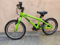 Frog 48 Green 16 inch wheel kids bike - Fully serviced