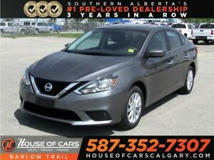 2017 Nissan Sentra SV /Backup Camera / Sunroof / Heated seats