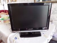 """19"""" HD Ready DMTECH TV with internal DVD Player"""