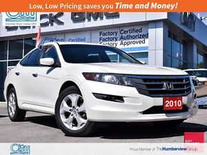 2010 Honda Accord Crosstour EX-L|LEather|3.5L V6|Sunroof!