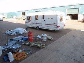 Coachman 2005 year,4 berth,cris reg,tested,dry,clean,full awning and all all accessories