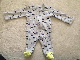 Newborn Baby Sleepsuit from Carters