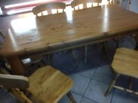Kitchen Table & six chairs for sale cheap for quick sale