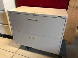 Global 2 Drawer Lateral Filing Cabinet - Beige - $150