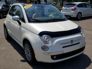 2013 Fiat 500 Convertible Lounge/Gucci (CONVERTIBLE)