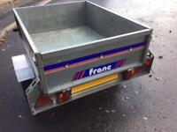 Franc 4ft 6inches x 3ft 6 inches road trailer
