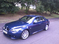 BMW 525d M Sport auto (E60) 5 series saloon FSH Diesel automatic, px, swap, 320d 325d 330d 520d 530d