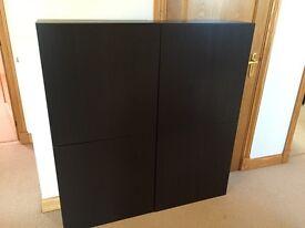 DVD / CD 2 wall storage cabinets, ikea