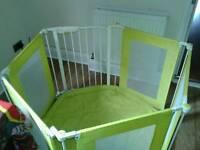 mothercare playpen room divider