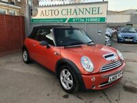 MINI Convertible 1.6 One 2dr £2,845 p/x welcome FREE WARRANTY, NEW MOT