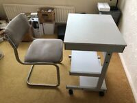 Computer desk and chair £12