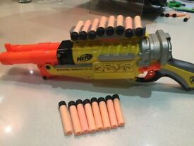 3 Nerf guns - a fantastic bundle of 3 super Nerf guns with bullets