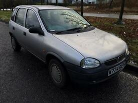 Vauxhall corsa 1.0 low mileage 85k great condition mot till 25 June