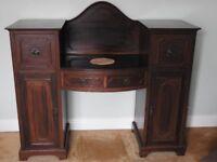 edwardian pedestal sideboard