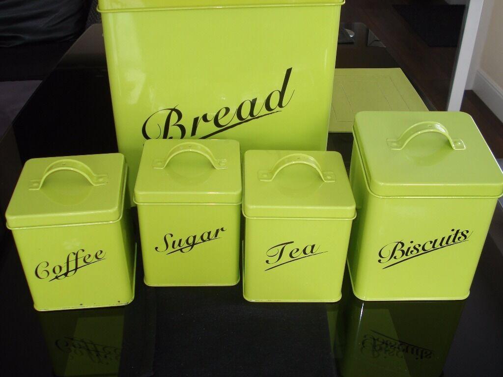 Bread bin biscuit tin tea coffee buy sale and trade ads for Furniture kingdom benfleet