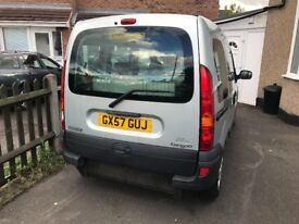 2008/57 RENAULT KANGOO 1.6 AUTOMATIC WHEELCHAIR ACCESS ONLY 15000 MILES!!