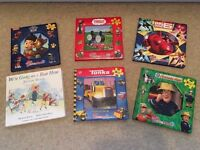 6 jigsaw books, excellent condition