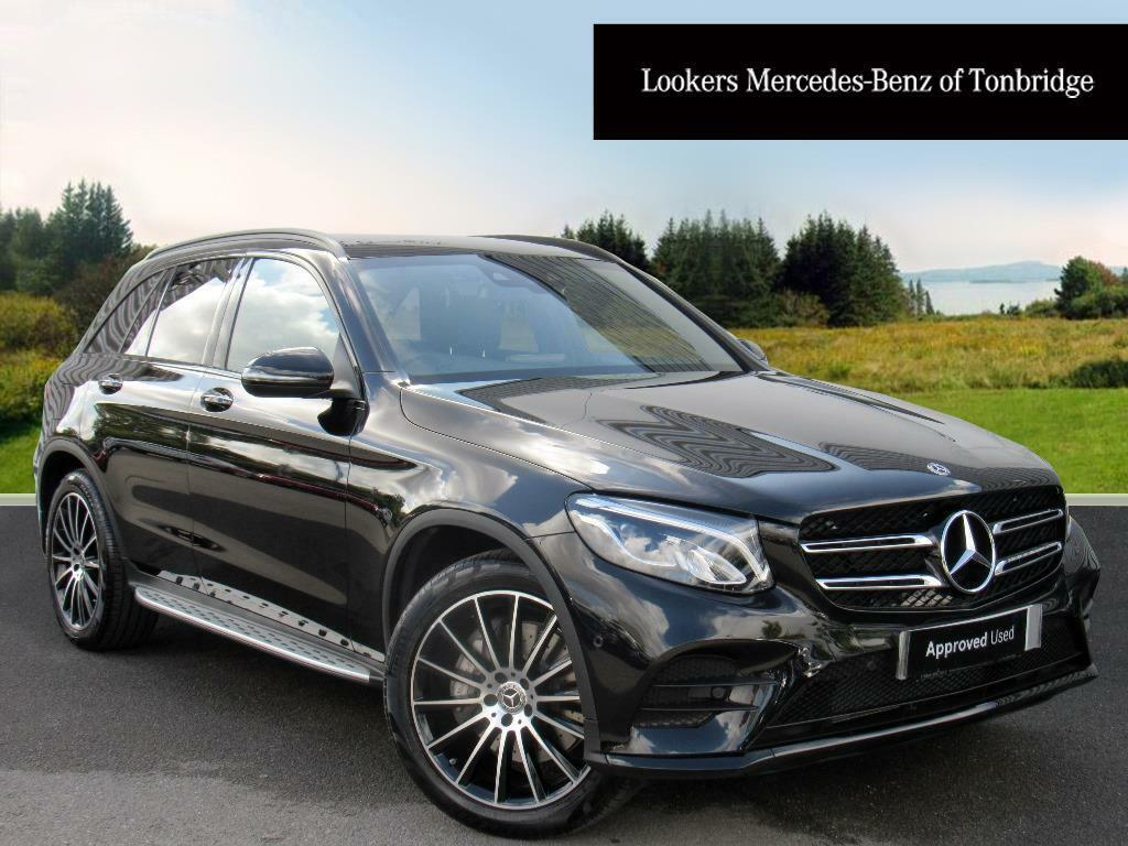 mercedes benz glc class glc 250 d 4matic amg line premium plus black 2017 09 14 in tonbridge. Black Bedroom Furniture Sets. Home Design Ideas
