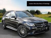 Mercedes-Benz GLC Class GLC 250 D 4MATIC AMG LINE PREMIUM PLUS (black) 2017-09-14