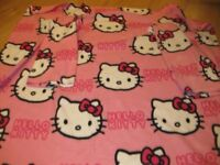 HELLO KITTY SLEEVED SNUGGLE FLEECE BLANKET £30 on Amazon for similar REDUCED AGAIN TODAY NOW ONLY £6