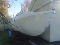 Seamaster Sailor 23 complete with 4 wheel trailer.