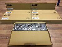 **BARGAIN** 200 x Brand New Boxed Dell KB212-B QuietKey Wired Keyboard - Black