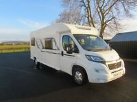 2016 BAILEY APPROACH 665 6 BERTH MOTORHOME WITH ONLY 14K MILES ANDERSON MOTORHOME SALES