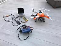 Twister Quattro-X FPV GPS Drone with 2 axis Gimbal ready for GoPro Hero 3/4/5
