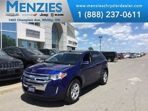2013 Ford Edge SEL AWD, Bluetooth, Pan Roof, Clean Carproof