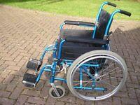 Wheelchair in good working order