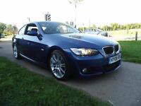 BMW 3 SERIES 320d M Sport 2dr (blue) 2008