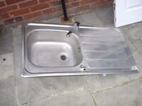 STAINLESS STEEL SINK INC TAPS £15
