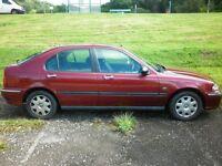 02 Plate Rover 45, 1.4. 5Door, long M.0.T.