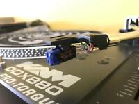 KAM DDX 880 Direct Drive Turntables x 2 with Stanton 500 carts