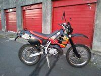 Aprillia rx 50 trail bike 2 stroke