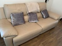 Recliner Settee and arm chair
