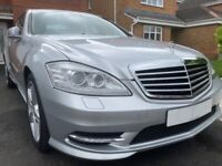 2012 Mercedes S Class S350 AMG Line **1 Yr MOT/FMSH/Only 58k Miles/Immaculate**