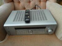 SONY STR-K740P SILVER FM STEREO FM AM RECEIVER 5.1 CHANNEL DIGITAL AUDIO/VIDEO CONTROL CENTER 80 W