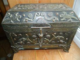 Moroccan ornate chest