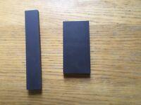Black Victorian replacement floor tiles