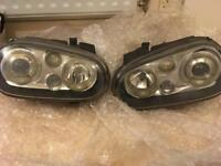 Golf mk4 headlights angel eyes hella celis ultra rare