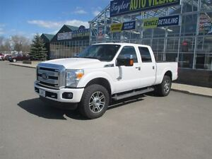 2015 Ford F-250 Platinum Trim level.  5th wheel prep package.