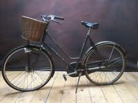 Retro antique Dutch bike