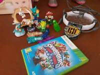 Xbox 360 skylanders game and extras
